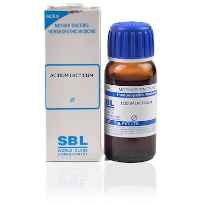 Sbl Acidum Lacticum Homeopathy Mother Tincture Q