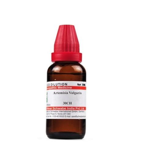 Schwabe Artemisia Vulgaris Homeopathy Dilution 6C, 30C, 200C, 1M, 10M