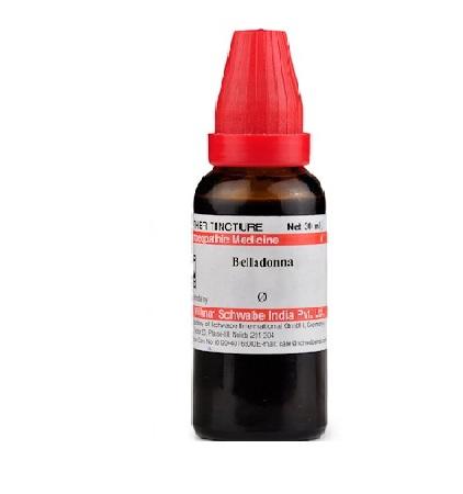 Schwabe Belladonna Homeopathy Mother Tincture Q