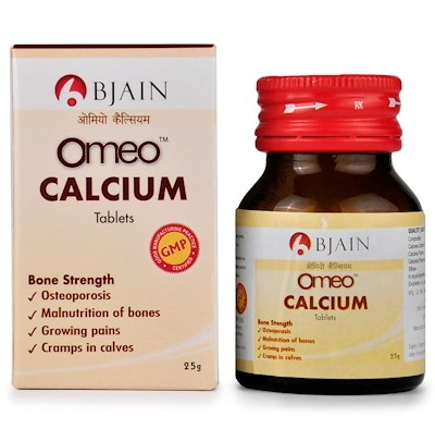 Omeo Calcium Tablets, Homeopathy Medicine for osteoporosis