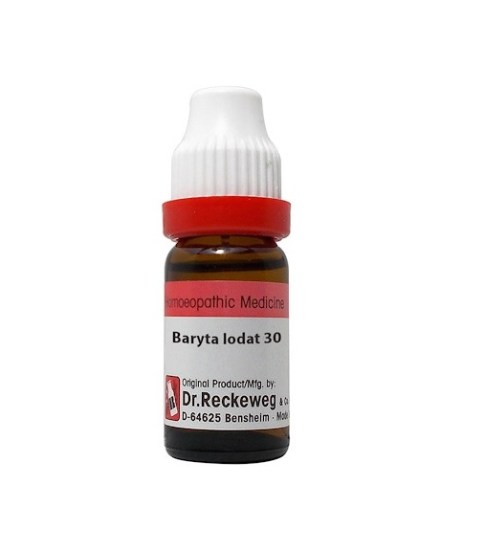 Dr Reckeweg Germany Baryta Iodata Homeopathy Dilution 6C, 30C, 200C, 1M, 10M, CM
