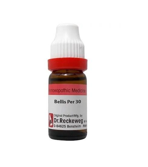 Dr Reckeweg Germany Bellis Perennis Homeopathy Dilution 6C, 30C, 200C, 1M, 10M, CM