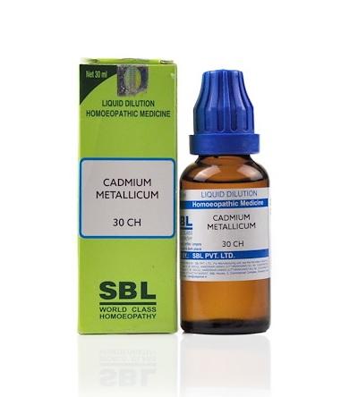 SBL Cadmium Metallicum Homeopathy Dilution 6C, 30C, 200C, 1M, 10M