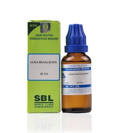 SBL Hura Brasiliensis Homeopathy Dilution 6C, 30C, 200C, 1M, 10M, CM