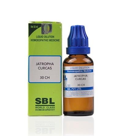 SBL Jatropha Curcas Homeopathy Dilution 6C, 30C, 200C, 1M, 10M, CM