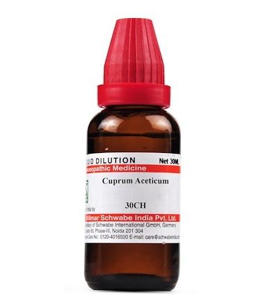 Schwabe Cuprum Aceticum Homeopathy Dilution 6C, 30C, 200C, 1M, 10M, CM