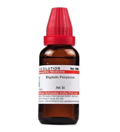 Schwabe Digitalis Purpurea Homeopathy Dilution 6C, 30C, 200C, 1M, 10M, CM