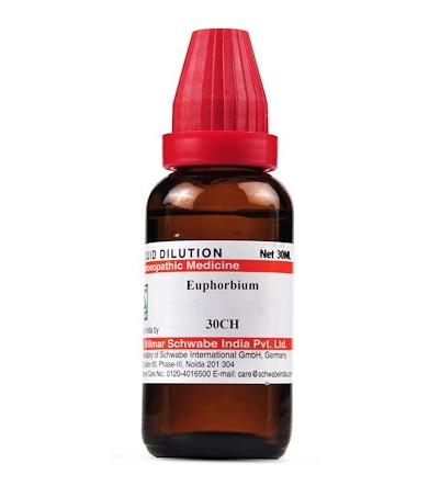 Schwabe Euphorbium Homeopathy Dilution 6C, 30C, 200C, 1M, 10M, CM