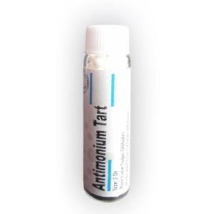 Antimonium tartaricum pills for respiratory problems, pneumonia, vertigo