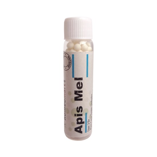 Apis Mellifica Homeopathy Pills for Insect Bites, Urticaria