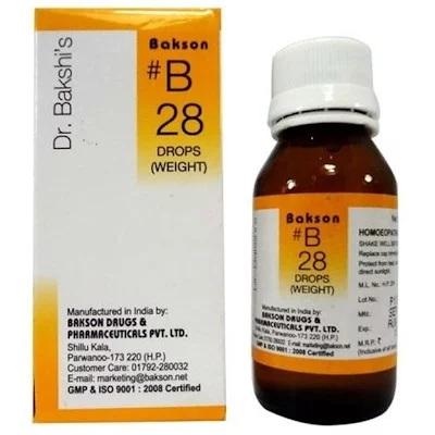 Dr Bakshi B28 Weight Drops, Overweight Medicine