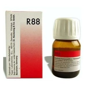 Dr.Reckeweg R88 Homeopathic Anti-Viral drops for Viral Fever, Measles, Mononucleosis, Herpes, Flu, Swine Flu, Dengue, Hand Foot and Mouth disease(HFMD)