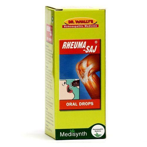 Medisynth RheumaSaj Oral Drops for Arthritis, Gout and Osteoarthritis