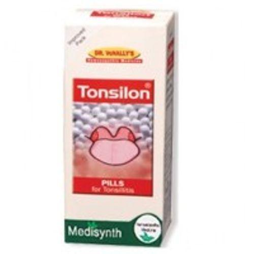Medisynth Homeopathy Tonsilon Forte Pills for Enlarged Septic Tonsils, 25gm