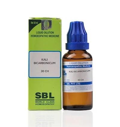 SBL Kali Bicarbonicum Homeopathy Dilution 6C, 30C, 200C, 1M, 10M, CM