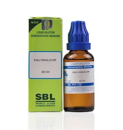 SBL Kali Oxalicum Homeopathy Dilution 6C, 30C, 200C, 1M, 10M, CM