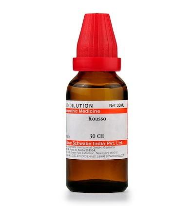 Schwabe Kousso Homeopathy Dilution 6C, 30C, 200C, 1M, 10M