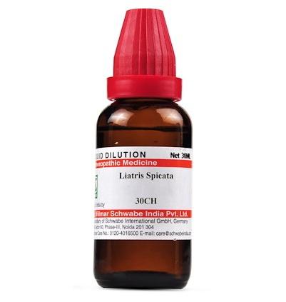 Schwabe Liatris Spicata Homeopathy Dilution 6C, 30C, 200C, 1M, 10M