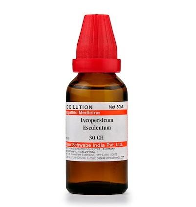 Schwabe Lycopersicum Esculentum Homeopathy Dilution 6C, 30C, 200C, 1M, 10M