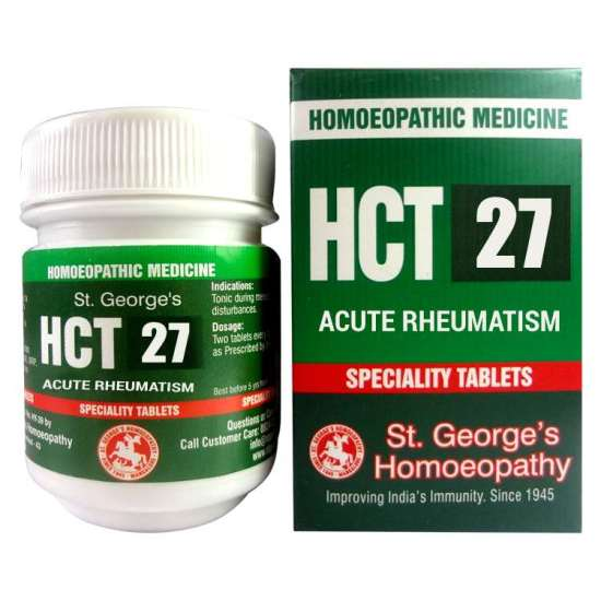 St.George HCT No 27 Tablets Chronic Cough