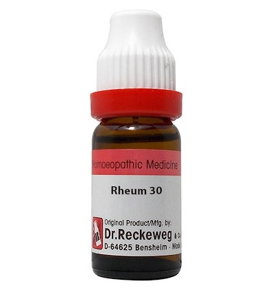 Dr Reckeweg Germany Rheum Homeopathy Dilution 6C, 30C, 200C, 1M, 10M