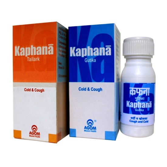 Kafana Gutika Oil & Pills Combo for Cough & Cold