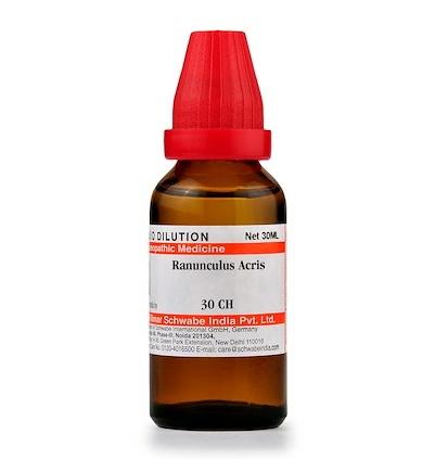 Schwabe Ranunculus Acris Homeopathy Dilution 6C, 30C, 200C, 1M, 10M