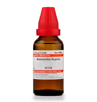 Schwabe Ranunculus Repens Homeopathy Dilution 6C, 30C, 200C, 1M, 10M