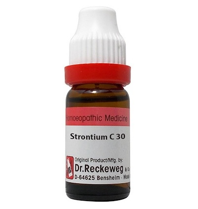 Dr Reckeweg Germany Strontium Carbonicum Homeopathy Dilution 6C, 30C, 200C, 1M, 10M