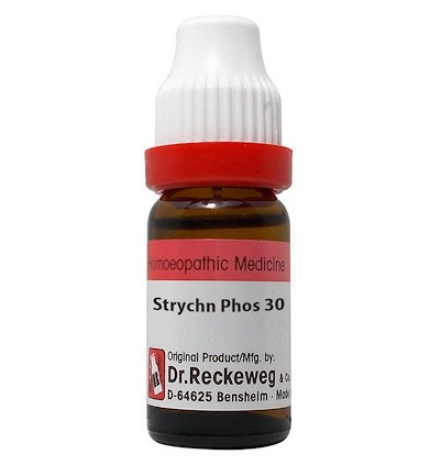 Dr Reckeweg Germany Strychninum Phosphoricum Homeopathy Dilution 6C, 30C, 200C, 1M, 10M