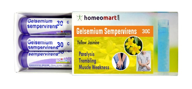 Homeopathy medicine Gelsemium Sempervirens for Paralysis, Trembling, Muscle weakness