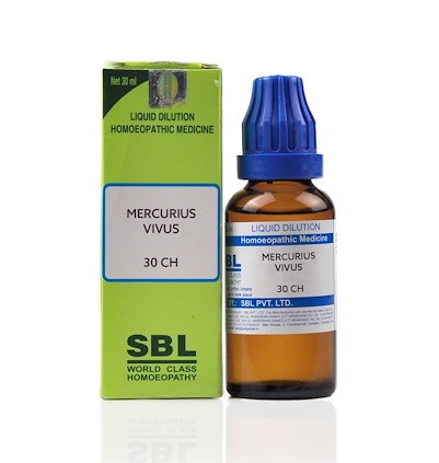 SBL Mercurius Vivus Homeopathy Dilution 6C, 30C, 200C, 1M, 10M