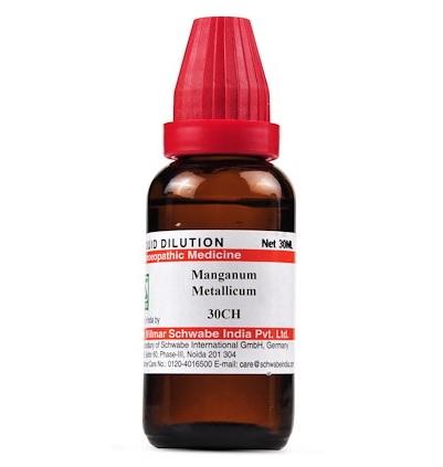 Schwabe Manganum Metallicum Homeopathy Dilution 6C, 30C, 200C, 1M, 10M