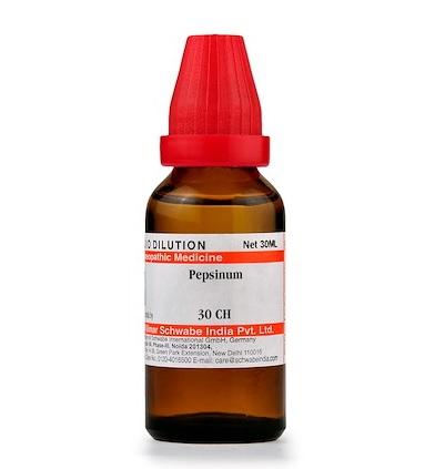 Schwabe Pepsinum Homeopathy Dilution 6C, 30C, 200C, 1M, 10M