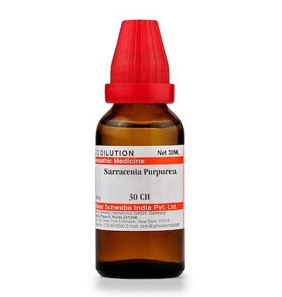 Schwabe Sarracenia Purpurea Homeopathy Dilution 6C, 30C, 200C, 1M, 10M