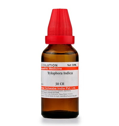 Schwabe Tylophora Indica Homeopathy Dilution 6C, 30C, 200C, 1M, 10M