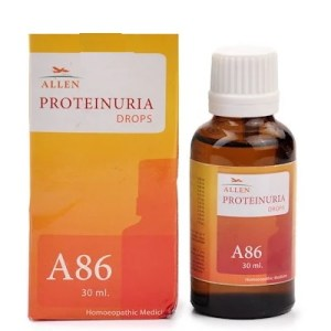 Allen A86 Proteinuria Drops - Homeopathy Medicine for Excessive Protein in Urine