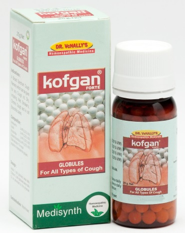 Medisynth Kofgan Forte Pills homeopathy for all types of Cough