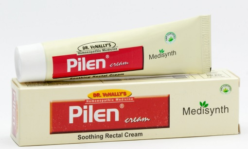 Medisynth Pilen Cream for blind bleeding piles, Soothing Rectal Cream