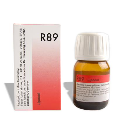 Dr.Reckeweg R89 Drops for Hair Loss, Alopecia, Premature Grey Hair
