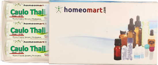 Caulo Thali homeopathy pellets