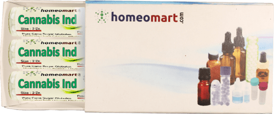 Cannabis Indica homeopathy pellets