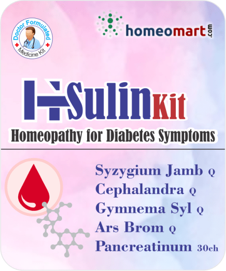 Homeopathic insulin medicines for diabetes control