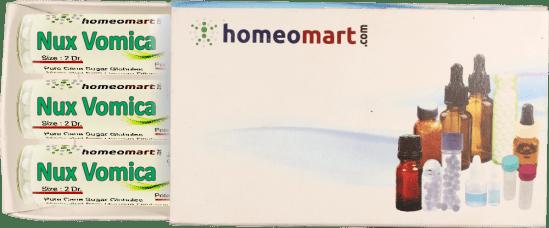 Nux Vomica Homeopathy Globules