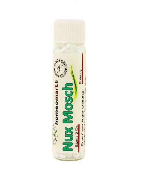 Nux Moschata Homeopathy Pills Globules