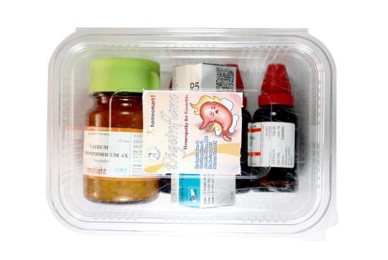 Digeinflam Homeopathy gastritis medicine kit