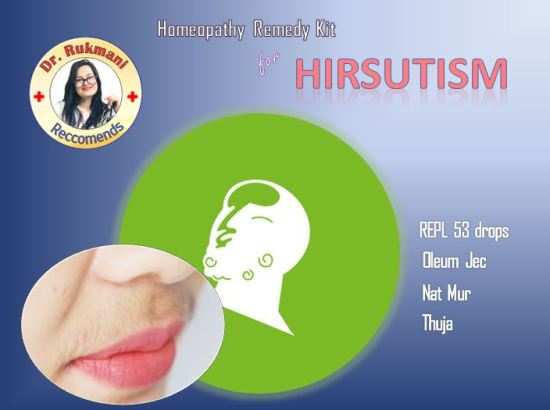 Homeopathic Medicine for Hirsutism treatment online