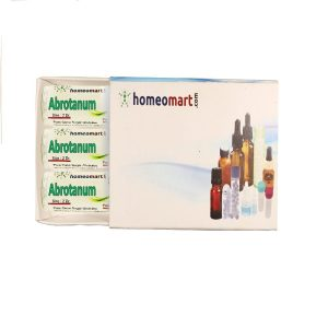 Abrotanum homeopathy pills