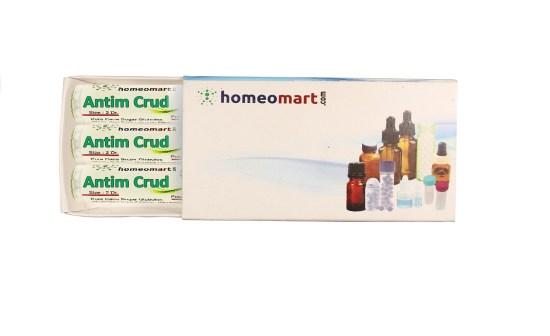Antim Crudum homeopathy pills