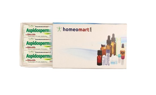 Aspidosperma homeopathy pills